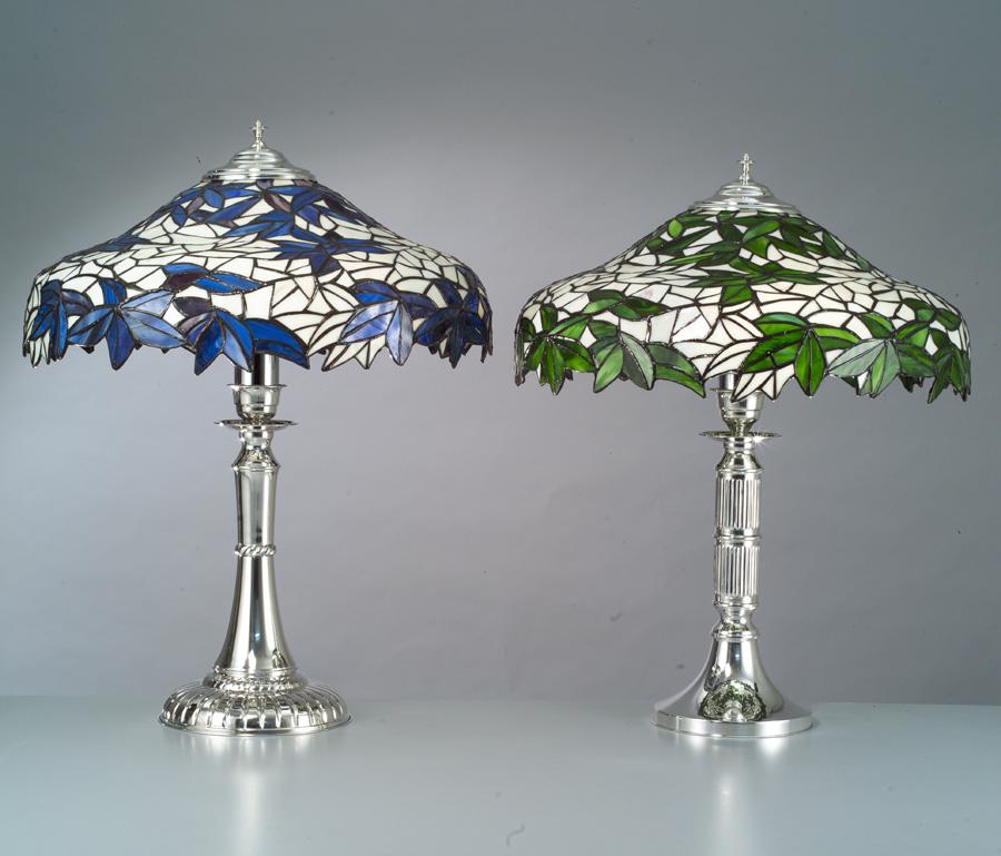 lampade tiffany  Argenteria Sacchi - Firenze